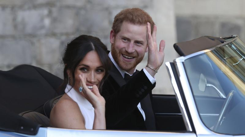 The Duchess' official web page comes after it was revealed Meghan and Harry have left Windsor Castle and are heading to London to begin married life together. (Photo: AP)