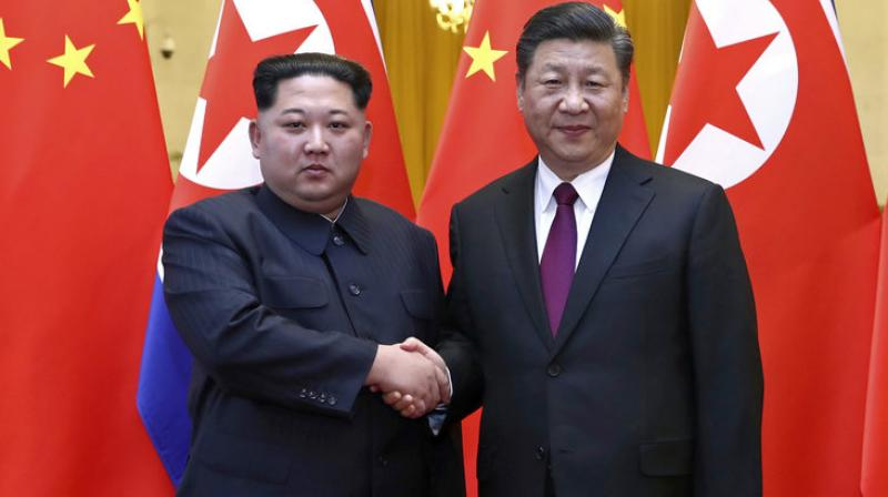 The North Korean has now visited his older ally four times in China and Pyongyang has been increasingly keen for Xi to reciprocate, while according to diplomats Beijing has been biding its time to see how nuclear talks between Kim and Trump play out. (Photo: AP)
