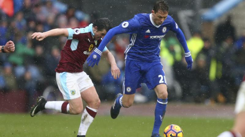 Chelsea had threatened to simply sweep their hosts away during a positive opening in which they repeatedly hit Burnley on the break. (Photo: AP)