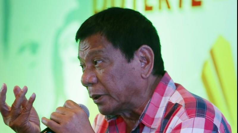 He has warned he may place the southern Philippines, scene of a decades-long Muslim separatist rebellion, under martial rule if terrorism threats spin out of control. (Photo: AP)