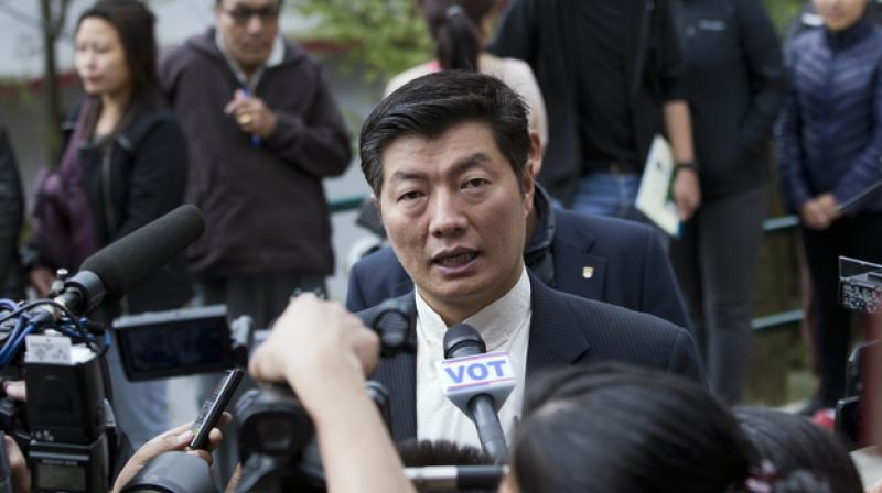 Prime Minister of the Tibetan government-in-exile, Lobsang Sangay. (Photo: AP)