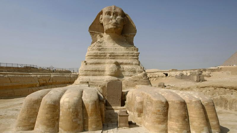 According to Director General of Antiquities Mohamed Abel Aziz, the statue was still in the ground and was embedded in the soil. (Representational Image/ AFP)
