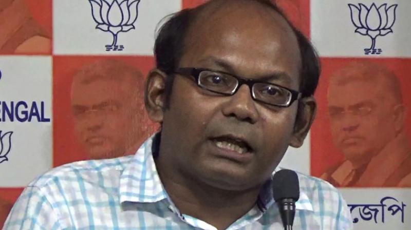 Sayantan Basu, BJP leader