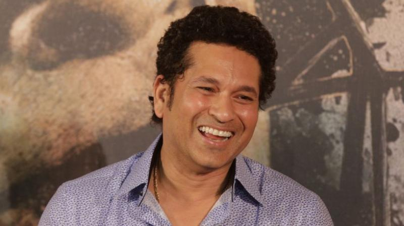 Sachin Tendulkar seemed particularly impressed by the youngster's shot selection, calmness and temperament. (Photo: AP)