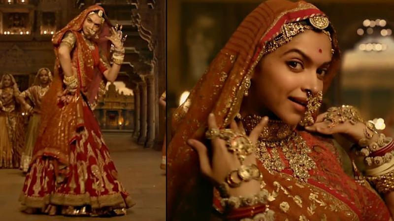 Deepika Padukone in a still from 'Padmaavat.'
