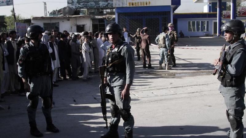 Afghan police. (Photo: Representational)