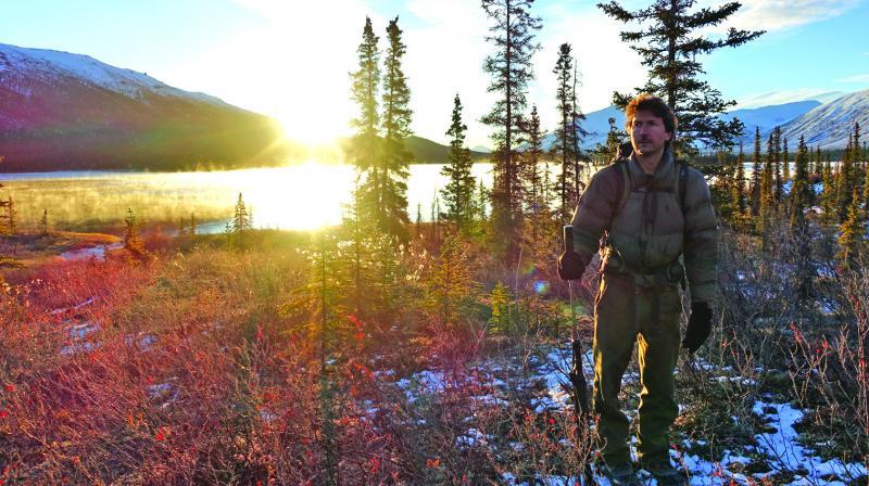 Glenn in the Alaskan woods