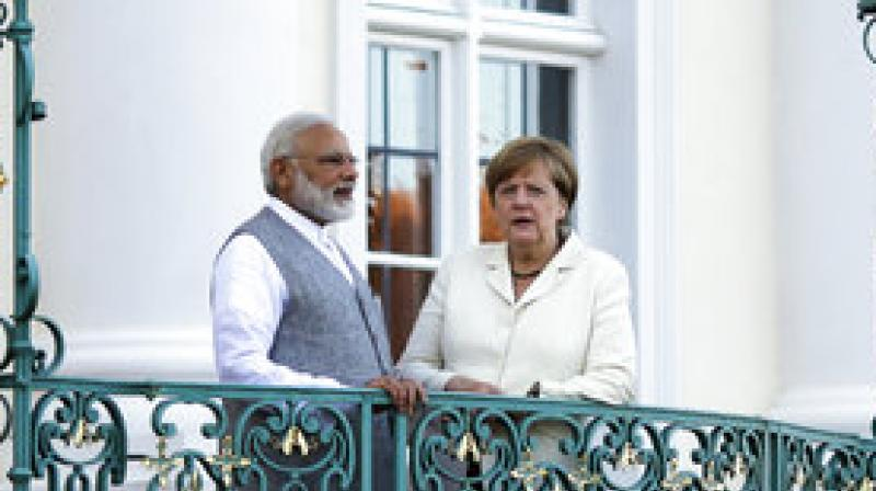Prime Minister Narendra Modi began his four-nation tour on Monday, aimed at boosting bilateral and economic ties with Germany, Spain, Russia and France. He spoke to German Chancellor Angela Merkel, and will meet German President Frank-Walter Steinmeier.