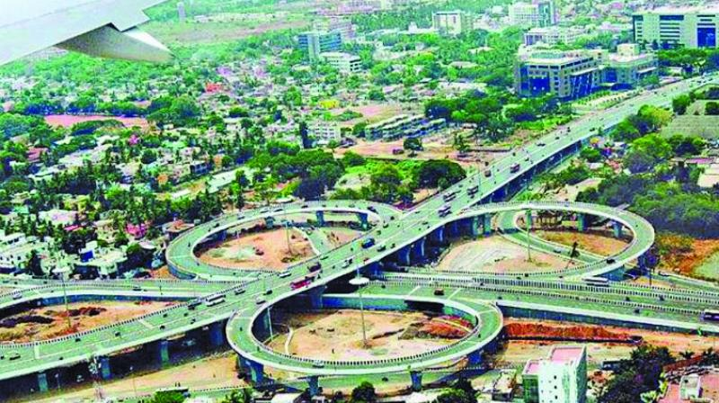 The total estimated cost of the 700-km-long Mumbai-Nagpur Expressway project is Rs 46,000 crore.