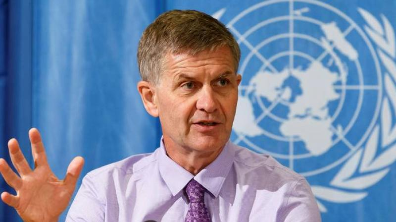 Solheim said there is incredible momentum on climate action from individual states, cities, the private sector and citizens and a single political decision will not derail this unparalleled effort. (Photo: AP)