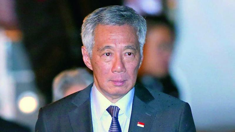 Prime Minister Lee Hsien Loong said in a congratulatory letter to Prime Minister Narendra Modi on the 70th Republic Day. (File Photo)