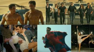 Screengrabs from the trailer of 'Race 3.'