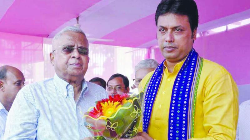Tripura government headed by chief minister Biplab Kumar Deb has issued a diktat to officials not to wear casual attire and avoid reading or sending messages on their mobile phones during high-level meetings.