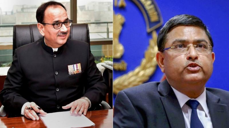 Alok Verma and Rakesh Asthana, who have alleged each other of impropriety, have been sent on leave by the Centre. (Photo: File | AP)