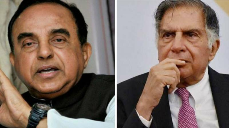 Swamy has claimed that the CBI had confirmed that further probe into Tata's involvement in the 2G case was underway. (Photo: PTI)