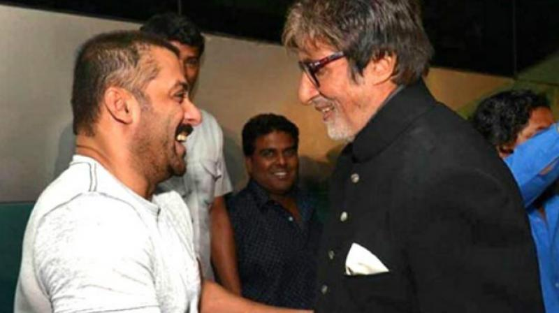 Amitabh Bachchan and Salman Khan have worked together in multiple films.