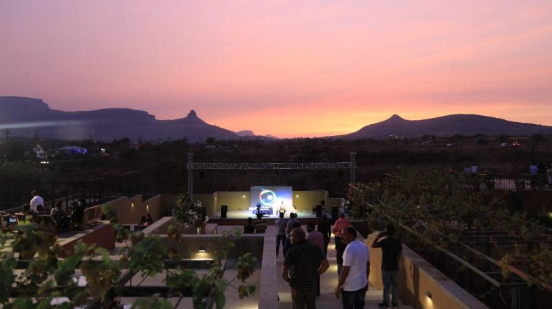 The objective of this festival was to promote Agro - tourism and Nashik as a tourist destination.