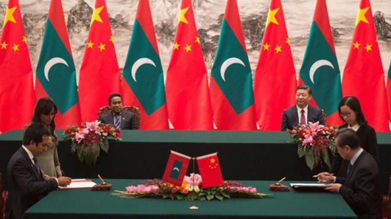 The people of Maldives and its business community are alarmed on the implications of the FTA and view it as an aggressive act by China to pursue its own agenda. (Photo: ANI)