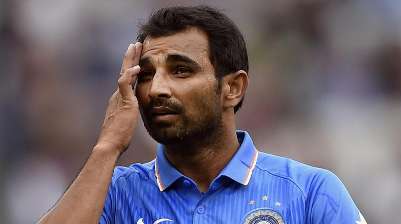 Mohammed Shami, who was ruled out of the ODI series against England, was crucial to India's success in the recently concluded five-match Test series against England. (Photo: AP)