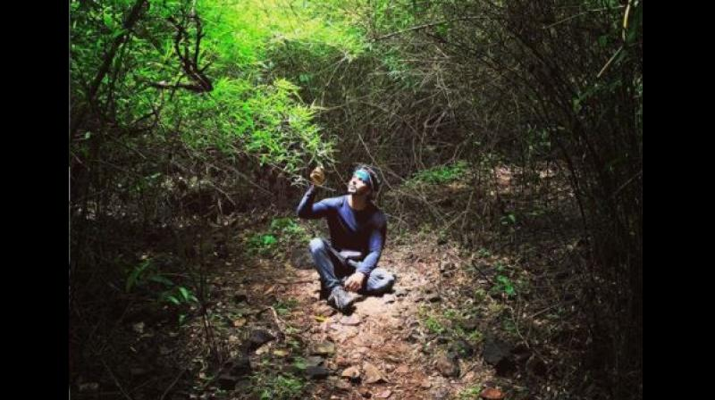 Actor Harshavardhan Rane believes that being surrounded by nature is hard-wired into human beings