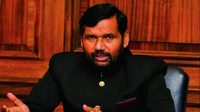 Food and Consumer Affairs Minister Ram vilas Paswan.