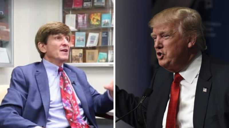 History professor Allan Lichtman, who claimed that he's accurately predicted every White House winner from 1984, had said that Donald Trump would win US Presidential election 2016. (Photo: YouTube Screengrab/ AP)