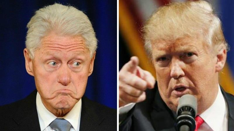 When asked whether he would seek the advice of Bill Clinton, Trump said