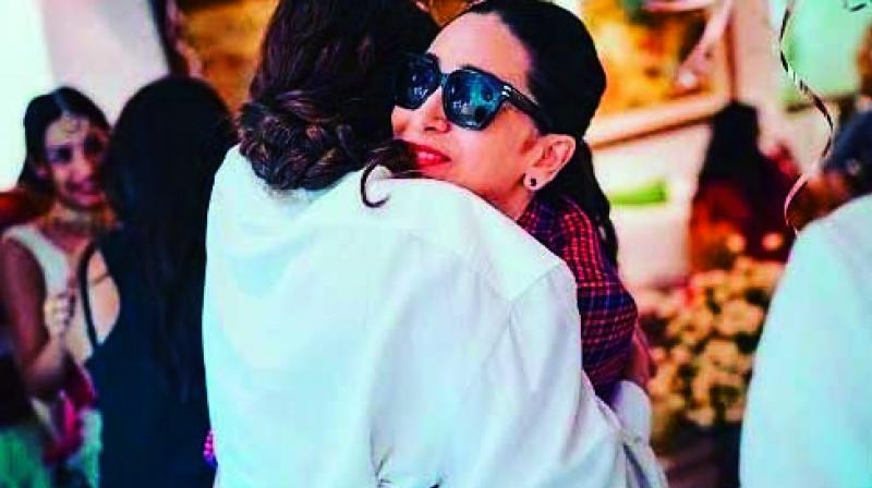 Karisma Kapoor's birthday celebration on June 25 this year was low-key, involving just her girl squad, including Kareena as well as Malaika and Amrita Arora.