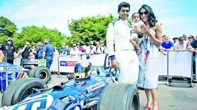 The indian voice of Formula 1