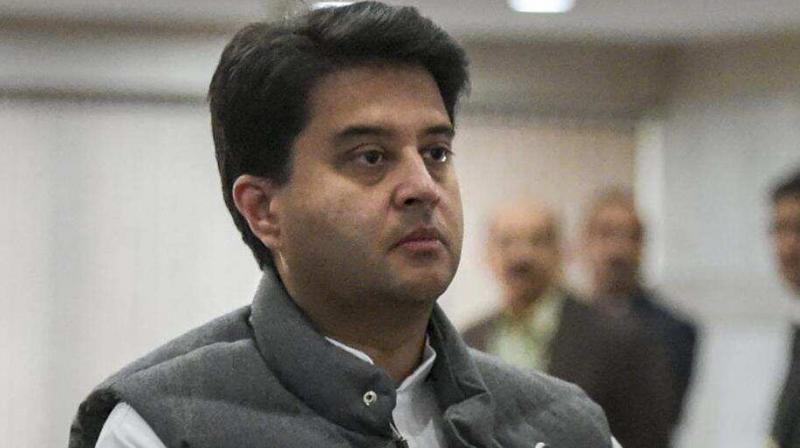 Jyotiradtiya Scindia (PTI file photo)