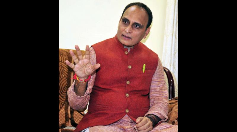 Rajya Sabha MP and RSS thinker Rakesh Sinha