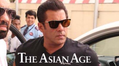 Salman Khan at 'Race 3' trailer launch.
