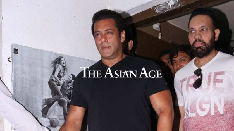 Salman Khan at 'Race 3' trailer launch.