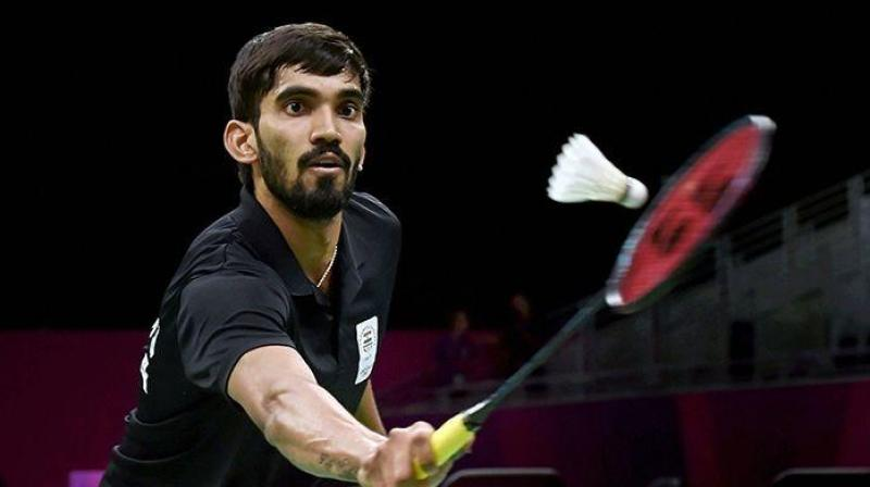 Third seed Kidambi Srikanth sailed past Russia's Vladimir Malkov in straight games to set up a second-round clash with fellow Indian Parupalli Kashyap in the Syed Modi International Badminton Tournament here on Wednesday. (Photo:AP)