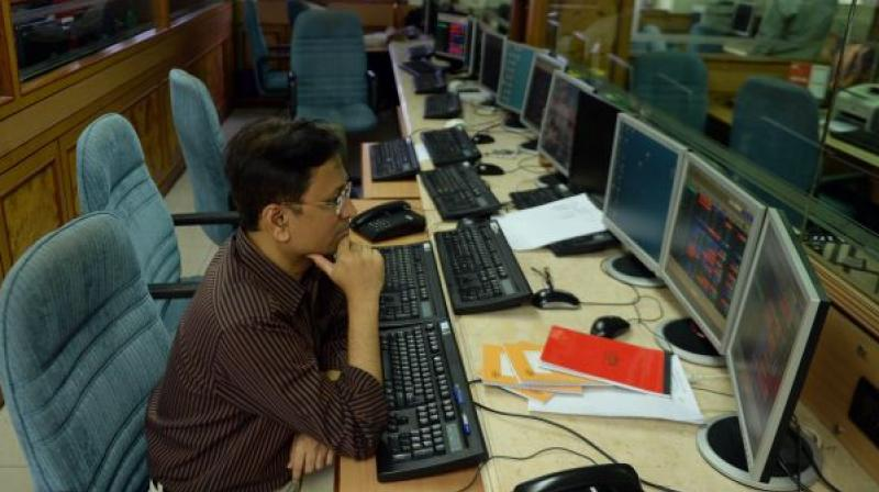 The BSE Sensex rallied 361.12 points, or 1.02 per cent, to close at 35,673.25.