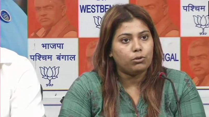 She said, 'My bail was granted yesterday (Tuesday), but still wasn't released for another 18 hours. They didn't allow me to meet my advocate and family.' (Photo: ANI | Twitter)