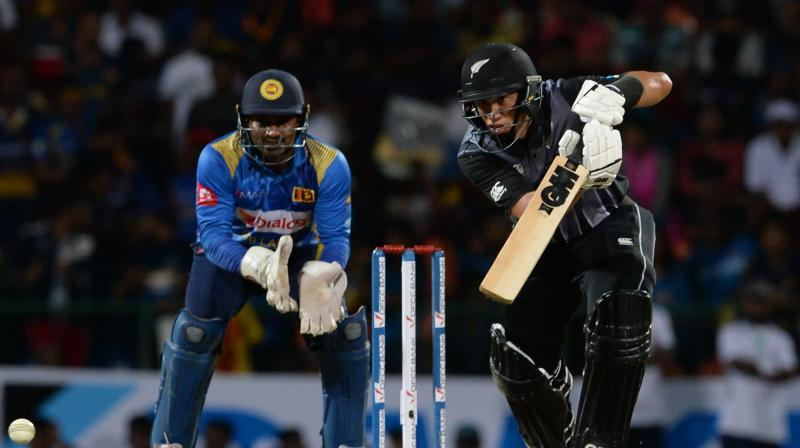 Ross Taylor played a knock of 48 runs off just 29 balls, allowing New Zealand to defeat Sri Lanka by five wickets in the first T20I of the three-match series. (Photo:AFP)