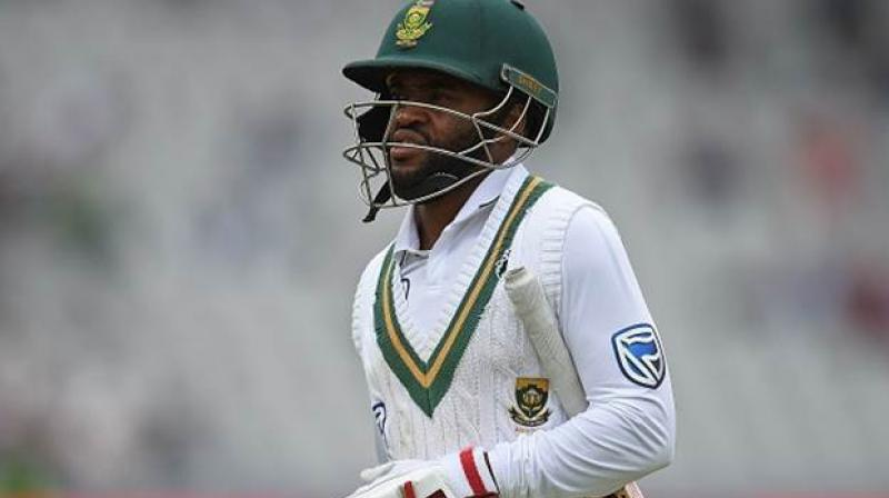 South Africa batsman Temba Bavuma will miss the first Test against England due to a muscle strain. (Photo:AFP)