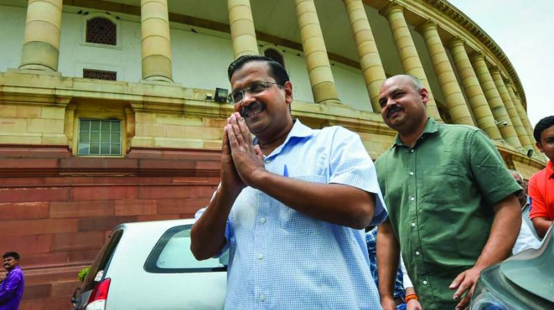 Delhi Chief Minister Arvind Kejriwal Saturday sought the Centre's cooperation in completing the Metro Phase-IV and expressed hope that the Union government will soon approve the project's three corridors it did not do earlier. (Photo: File)