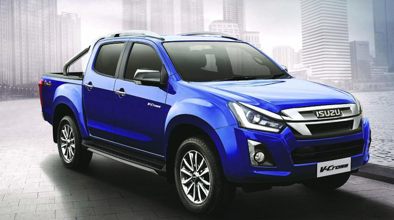 Isuzu launches D-Max V-Cross