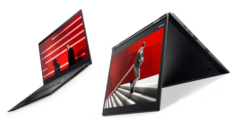 The ThinkPad X1 Carbon and X1 Yoga, both claim to be the world's first laptops to support Dolby Vision HDR and a brighter display supporting 500 NITS brightness.