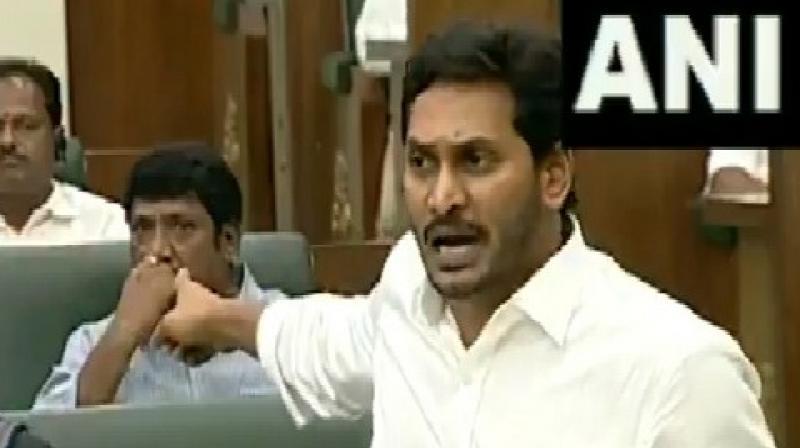 YS Jagan Mohan Reddy, Opposition lock horns over demolition