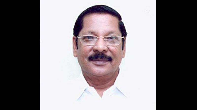 R S Bharathi also claimed the flying squad and surveillance teams deputed by the Election Commission are not conducting checks outside the Ottapidaram territorial limits. (Photo: Twitter | @RSBharathiDMK)