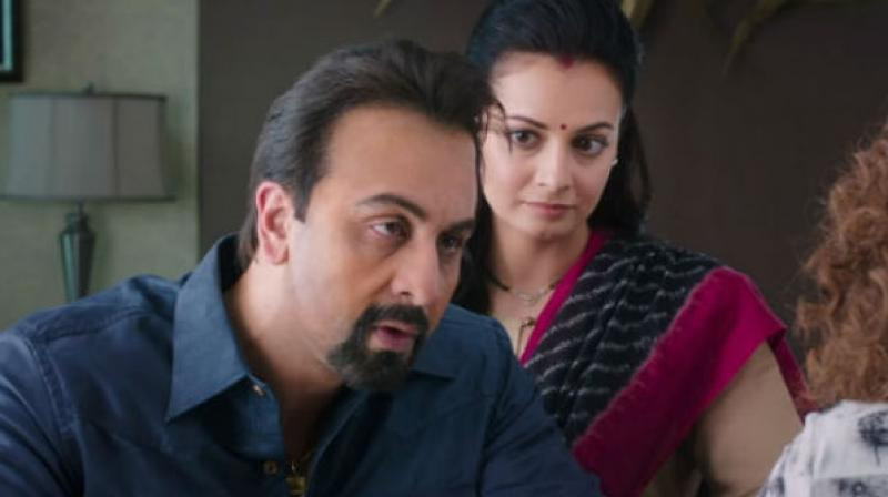 Ranbir Kapoor when he utters the dialogue in the trailer of 'Sanju.' When asked about his girlfriends, he asks,