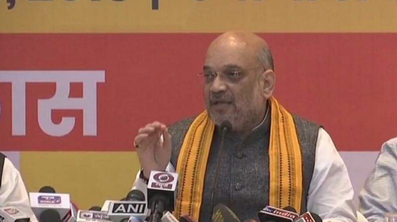 'I doubt. He (Amit Shah) is not a God. He cannot predict that in politics. Even (Narendra) Modi cannot predict that. That is his wishful thinking. Nobody can predict that,' MNF chief said. (Photo: File)