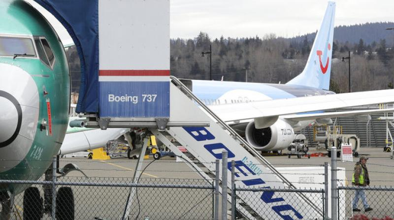The sensors measure whether the plane is pointed up, down or level in relation to the direction of onrushing air. Software on the Max can push the plane's nose down if data from one of the sensors indicates the plane is tilted up so sharply that it could stall and fall from the sky. (Photo AP)