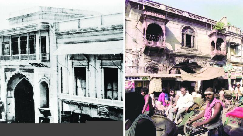 Zeenat Mahal then and now (Photo: Sondeep Shankar)