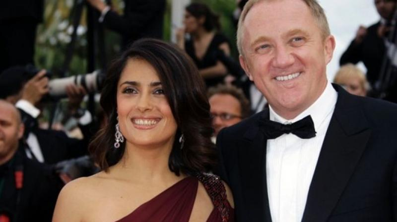 e902ba2a1 Salma Hayek reveals how she fell in love with her husband and you ll ...