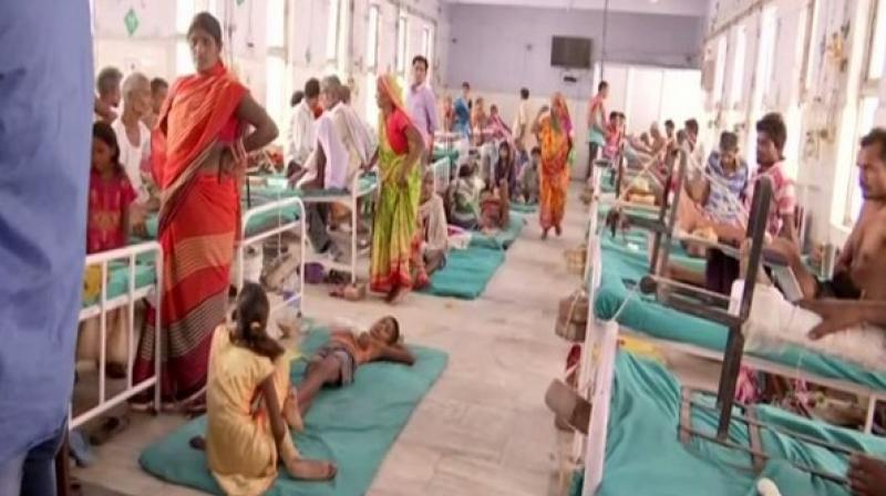 'Nobody pays heed to us and the doctor doesn't even come and check upon us. I was admitted here on June 5. Since then, the doctor had visited the patients twice or thrice,' said another patient. (Photo: ANI)