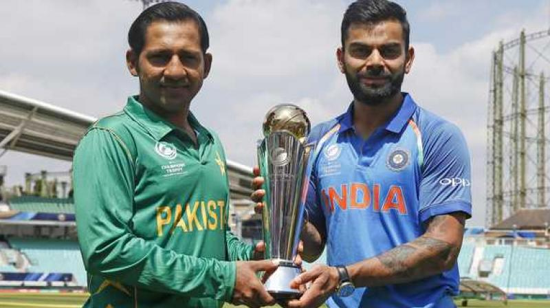 Several former India players urged Virat Kohli's men to boycott the June 16 match in Old Trafford, Manchester, against their arch-rivals while others saw more merit in playing and extending India's 6-0 unbeaten record against Pakistan in World Cups. (Photo: AFP)
